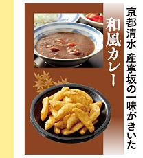 京都清水 産寧坂の一味がきいた 和風カレー