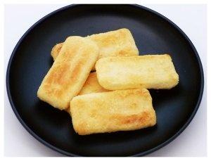 画像2: ソフト鉄板焼せんべい チーズ味(80g)